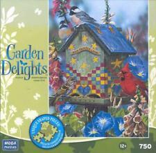 Jenene Grende Garden Delights Jigsaw Puzzle Quilter Lane Complete