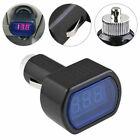 Digital Led Auto Car Cigarette Lighter Volt Voltage Gauge Meter Monitor 12v24v