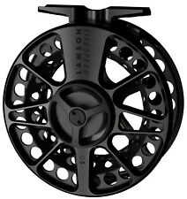LAMSON LITESPEED G5 -5+ FLY REEL IN BLACKOUT FOR 4, 5 OR 6 WT ROD - FREE US SHIP