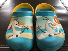 5d09bd1ae8d3a4 Pre-own Crocs Disney s Olaf Size C12 13