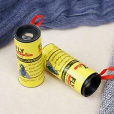 4 Rolls Insects Glue Tape Strips Paper Catcher Ribbon Strip Sticky Flies Yellow,