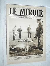 MIROIR 30/01 1916 GUERRE 14-18 VOSGES PACHA SOUS-MARINS SERRET CASQUES BULGARIE