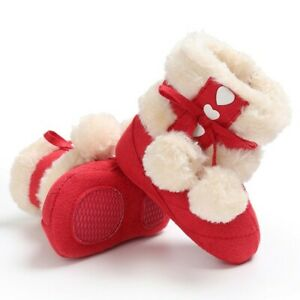 Winter Baby Girl 0-1 Years Old Baby Fashion Warm Cute Shoes Toddler Shoes