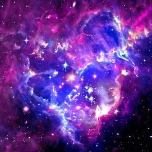 Twin XL Full Queen King Moon Galaxy Space Sky Light Soft Microfiber Duvet