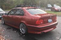 For BMW E39 SE Rear Bumper Spoiler lip Valance addon Diffuser Skirt Chin addon
