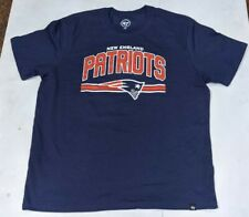 New England Patriots 47 Brand Mens T-Shirt  NEW Large