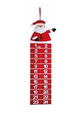 Santa Felt Advent Xmas Christmas Calendar