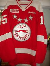 2012-2013 Ohl Chl Soo Greyhounds Chris Buonomo Game Worn Hockey Jersey Loa