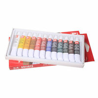 Hot sale  12 Color 12ml Paint Tube Draw Painting Oil Color Set -NEW