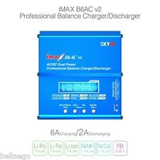 SKYRC iMAX B6AC V2 6A Chargeur Équilibreur Écran LCD Déchargeur pour RC batterie