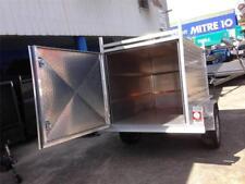 NEW 7X4X4 HEAVY DUTY  ALUMINUM ENCLOSED BOX TRAILER1YR REGO FREE SPARE & JOCKEY