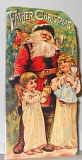 Vintage Father Christmas Book Htf Mint Condition B. Shackman We Ship Worldwide!