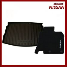 Genuine Nissan Qashqai J11 & JJB 2014 Onwards Boot Liner & Carpet Mats Pack
