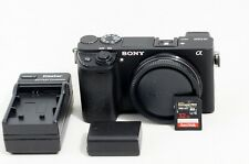 Sony Alpha A6300 24.2MP Digital Camera Black Body Only LOW SHUTTER COUNT 32GB