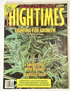 High Times Magazine - April 1989