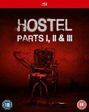 Hostel Parts I II and III Blu-ray