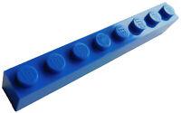 Lego 50 Stück blaue Steine 1x8 (3008) Neu Stein in blau City Basics Brick Bricks