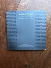 Panerai Radiomir Chronograph 42mm Manual Booklet 11.10