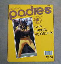 SAN DIEGO PADRES BASEBALL YEARBOOK - 1979 - NEAR MINT