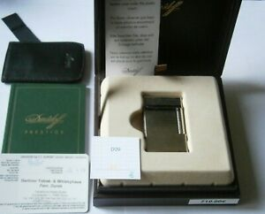 Davidoff-Feuerzeug,Chrrom,6 cm ,Box,Papiere,Top!!