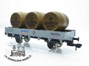 DB402 ESCALA 1 MÄRKLIN 54812 SPUR 1 Bierwagen Niederbordwagen mit Dampfbier S/C