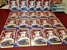2018 bowman paper card lot of 20 Philadelphia Phillies Victor Arano, card # 66