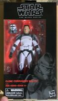 "Clone Commander Wolffe Star Wars The Black Series  6"" Figure New In Hand Mint 🔥"