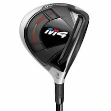 Left Handed TaylorMade Golf Club M4 15* 3 Wood Stiff Graphite Excellent
