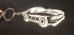 Personalised Passing Driving Test Car Keyring Gift Birthday Boy  Fathers Day