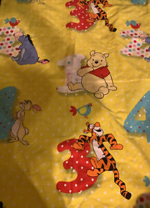 Disney Baby Pooh And Friends  Crib Mattress Cover