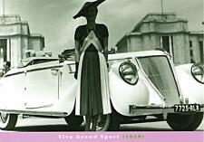 Print. 1938 Renault Viva Grand Sport Automobile