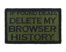 If Found Dead Delete My Browser History Hook & Loop Morale Tags Patch GB