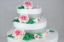 Zuckerblumen | Zuckerrosen | Tortendeko | Fondant | Hochzeit | Geburtstag