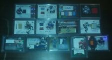 (13) 2011-14 NFL FOOTBALL Jersey Patch Rookie Auto Lot! Gold Refractor #D /25🔥
