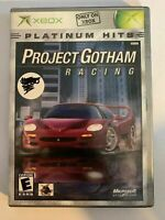 PROJECT GOTHAM RACING - XBOX - COMPLETE WITH MANUAL - FREE S/H - (T9)