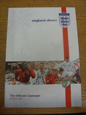 2003 England: Official FA On-Line Store Spring/Summer Catalogue, A4 Glossy Style