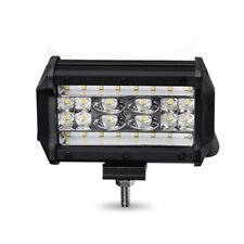 1x Weiss LED Zusatzscheinwerfer 12V 72W Wasserdicht für Offroad Lkw Kfz ATV Boot
