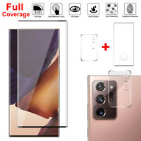 Samsung Galaxy Note 20/20 Ultra Tempered Glass Camera Lens Full Screen Protector