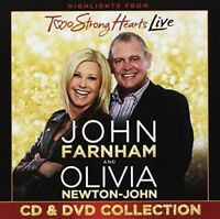 John Farnham & Olivia Newton-John - Two Strong Hearts Live (Deluxe CD+DVD) NEW
