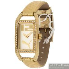 PUMA Time Uhr Pure Pliancy Gold PU101672001 Damen Armbanduhr