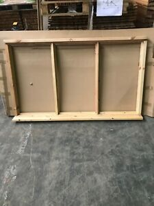 Brand New Unused Supplied Double  Glazed Timber Window 1765mmx1195mm unfinished