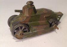 John Hill, Renault Tank. (ref Or 371) pre war