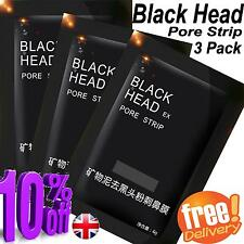 Clear Skn  Blackhead Remover  Face Mask Peel-Off  3x 6g Mud Pack Uk