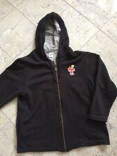 WARNER BROS Embroidered Tweety Bird Hooded Zip Jacket Women L