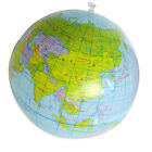Inflatable World Globe 40CM Earth Atlas Ball Map Geography Kid Toy Map Ball