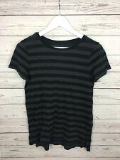 Women's Ralph Lauren T-Shirt - Small - Black & Grey - Great Condition