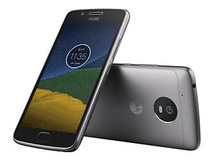 "Brand New Motorola Moto G5 XT1675 5"" Smartphone 16GB Unlocked GREY - warranty"