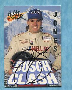SIGNED 1994 Wheels High Gear #99 PJ Jones - Autographed Card NASCAR Auto