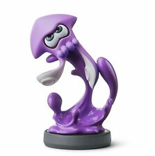 Amiibo Splatoon 2 Neon Purple Inkling Squid Nintendo Switch USA VERSION Octoling