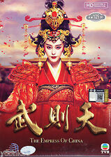 15 DVD Chinese Drama The Empress of China 武則天 TV 1-75 End Good English Sub R0